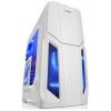 先马(SAMA)风暴5白 400长游戏电脑机箱