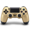 索尼(SONY)PlayStation 4 游戏手柄(金色)