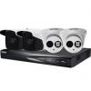 海康威视 400万POE供电1-16路监控摄像头套装