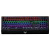 狼蛛 自由之翼混光 机械键盘104键游戏键盘 机械青轴