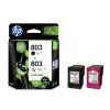 惠普(HP)X4E76AA 803黑彩墨盒套装