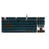 达尔优(dare-u)87键机械合金版游戏背光机械键盘