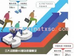 """移动广电联姻 中国5G确立""""2+2""""竞争格局"""