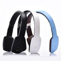 私模头戴式蓝牙耳机轻薄触控便捷折叠 有线无线两用