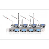 原装 lspro乐士普一拖四专业无线会议话筒HD2400